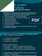 Examen Clinic Obiectiv Local