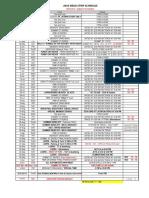 2016 Drag Schedule RMR