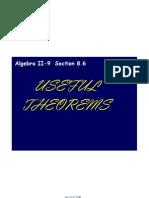 Algebra II-9 Notes April 27