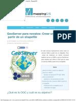 GeoServer Para Novatos
