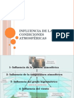 1.9 Influencia de Las Condiciones Atmosféricas