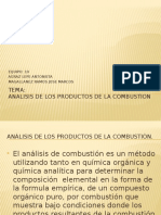 1.10 Analisis de Productos de La Combustion