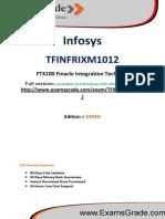 ExamsGrade TFINFRIXM1012 Exam Training Kit