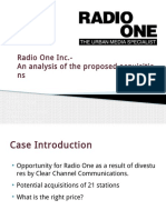 Fin 600_Radio One-Team 3_ Final Slides