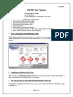 QTP 11.0 Features