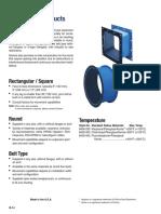 Flue Duct Garlock Style 8400 Data Sheet