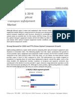 2015 Review & 2016 Forecast to Optical Transport Equipment Market