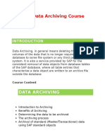 SAP Data Archiving Online Training - Glory IT Technologies