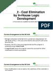 N2 Unit - Cost Elimination by in-House Logic Development