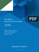 Top Rated Enterprise Technology 2016 It Central Station Idg v3
