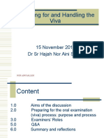 Roles Of Examiner - Viva.ppt