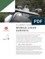 TSA Client Guide - Mobile LiDAR Surveys Issue 3_HR