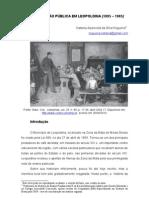 Instrução Pùblica em Leopoldina (1895 - 1905)