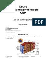 Anatomie Du Squelette Et Du Membre Supérieur