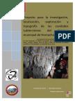 2016-03-24 Proyecto Exploración Cavidades Hornachuelos