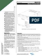 Datasheet MS2V75 v H