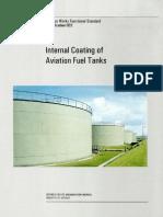Internal Tank Coating