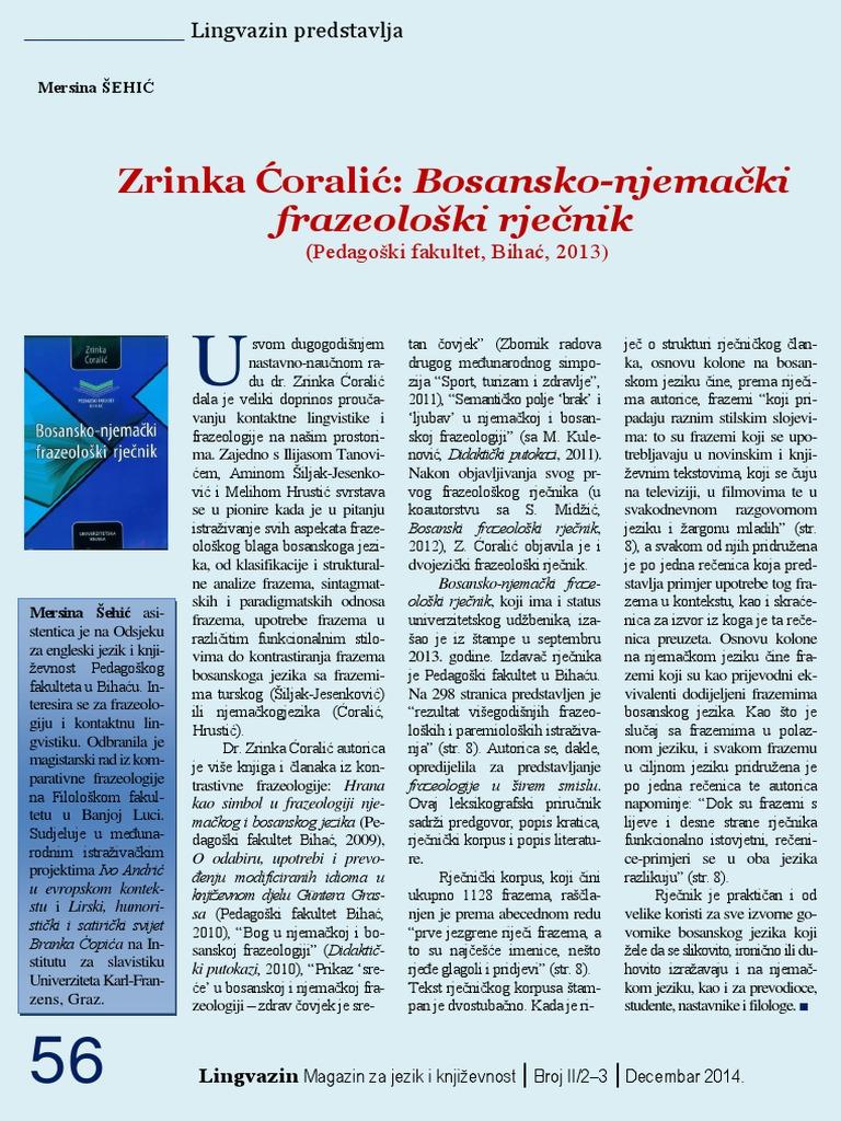 bosansko njemacki rjecnik