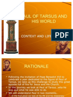 01-Paul of Tarsus and His World