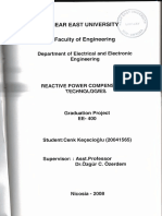 Review of Reactive Power Compensation Technologies