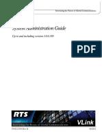 Vlink System Admin Guide