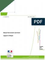 Rapport Nœud Ferroviaire Lyonnais Part Dieu Souterrain RER