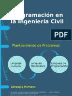 Programación en La Ingeniería Civil
