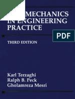 Soil Mechanics in Engineering Practice 3rd Ed,Karl Terzaghi Ralph B. Peck, Gholamreza Mesri