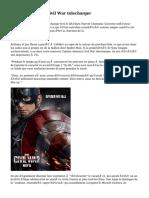 Captain America Civil War telecharger