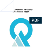 Utah Division of Air Quality Annual Report 2015