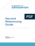 Harvard Referencing Guide 5th Ed 2015