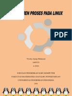 Modul Manajemen Proses Pada Linux