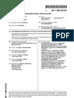 European Patent for Locus Chlamydia test