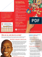 United Way Donor Brochure