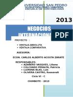 Negocios Ejercicios PDF