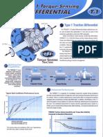 Torsen T-1 Technical Sheet
