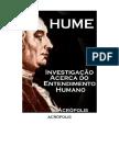 Hume Investigação a Cerca Do Desenvolvimento Humano