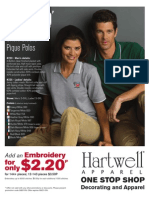 Hartwell 220 & 225 Polos Promotional Flyer