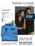Hartwell 850 & 855 Polos Promotional Flyer