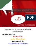 Proposal for Ecommerce Website Development Ppt