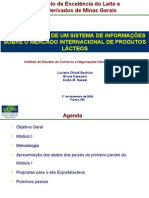 Estruturação de um sistema de informações sobre o mercado internacional de produtos lácteos