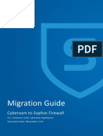 Cyberoam to SFOS Migration Guide