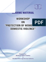 Domestic Violence Act, 2005