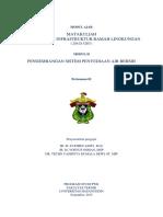 Modul Ajar Perencanaan Infra Ramah Lingkungan (Air) Universitas Hasanuddin