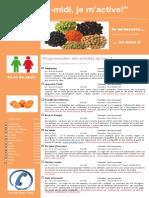 Dépliant Publicitaire Activités Mercredis PM Bloc 3 2e Et 3e Cycle 2015 2016