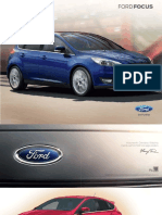 Nowy Ford Focus Katalog