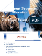 6-Investment Processes and Portfolio Selection