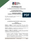 Ley Participación y Control Social, Municipio Oruro