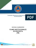 Guía para la elaboración de PIR