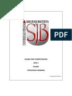 Silabo Fisiologia Humana 2016-i